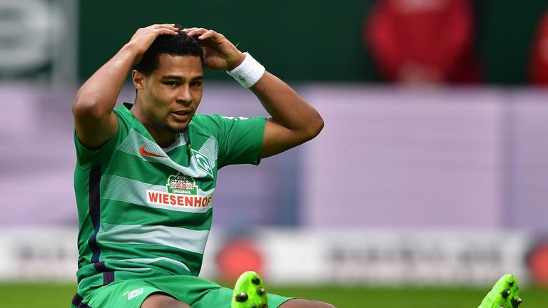 Gnabry joined Werder Bremen from Arsenal in August