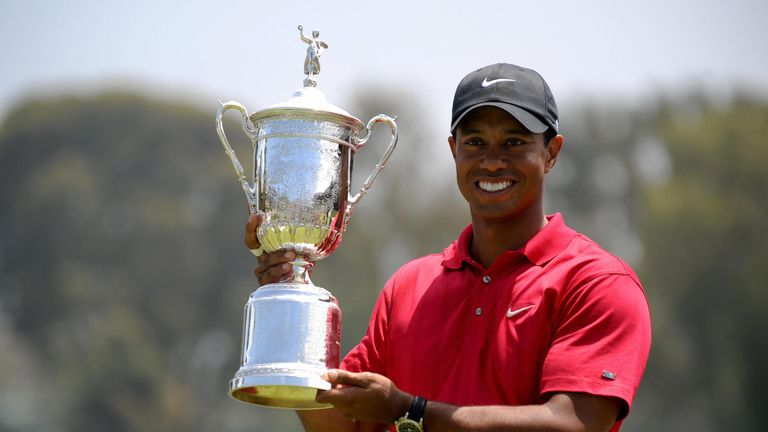 Woods has won 79 times on the PGA Tour and has triumphed in 14 majors