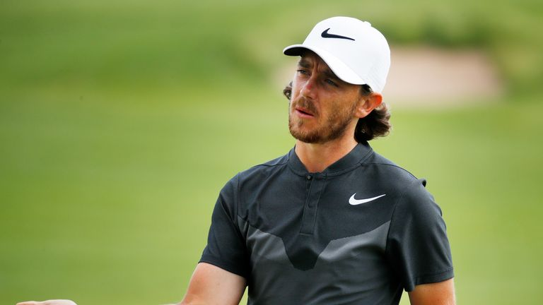 Tommy Fleetwood finished fourth at the 2017 US Open