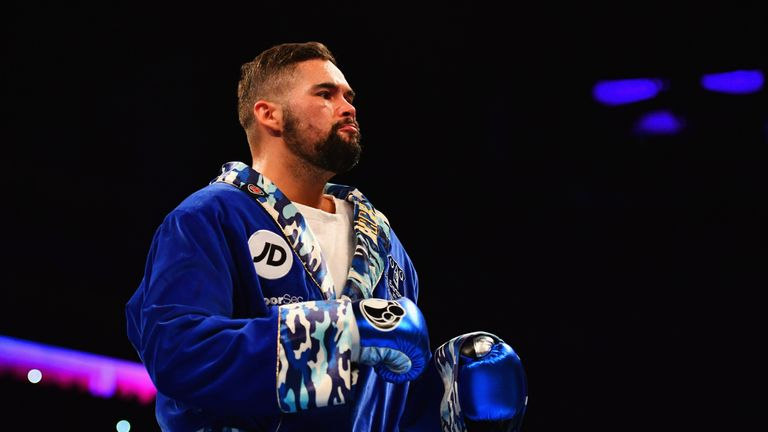Tony Bellew is still yet to decide what his next move will be