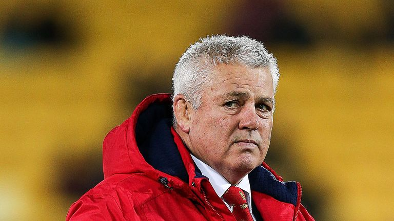 Warren Gatland has admitted he found some of the treatment he received by the media in his native New Zealand 'personal'
