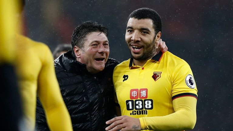 Deeney has been a regular on the golf course in recent years