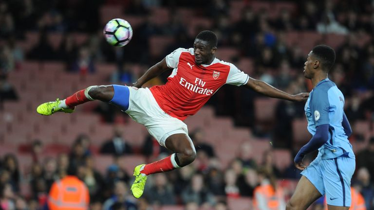 Yaya Sanogo has been released by Arsenal