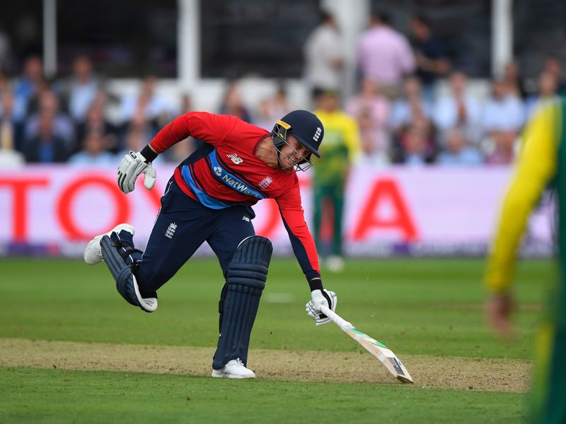 The dimissal of Jason Roy for obstructing the field was key in England's three-run defeat in the second game