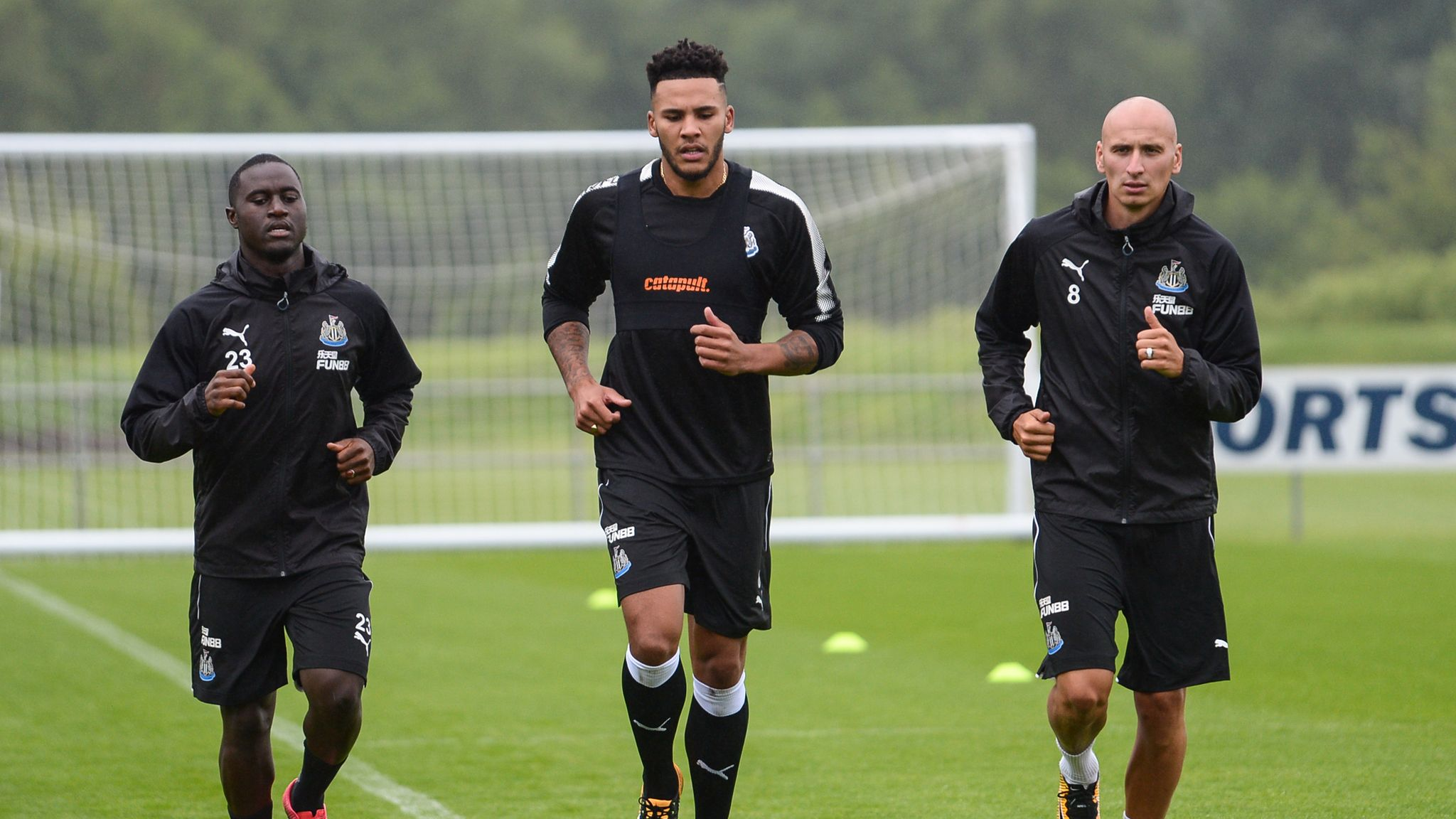 Premier League Clubs Return For Pre Season Training Football