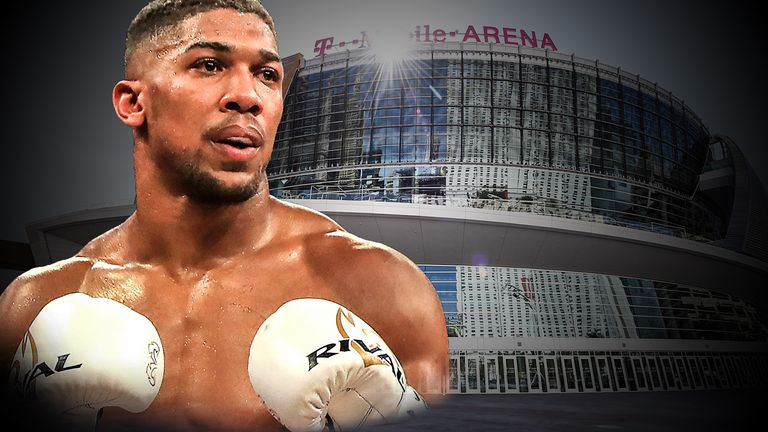 Anthony Joshua's planned rematch with Wladimir Klitschko is likely to be staged at the T-Mobile Arena in Las Vegas