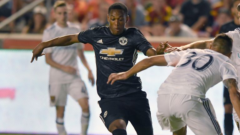 Anthony Martial needs to be more consistent for United, according to Jose Mourinho