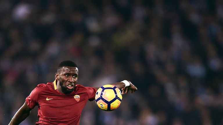 Antonio Rudiger has signed a five-year contract at Chelsea after moving from Roma
