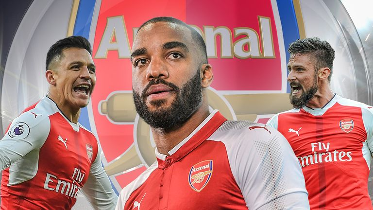 Will Alexandre Lacazette get the chance to lead the line for Arsenal?