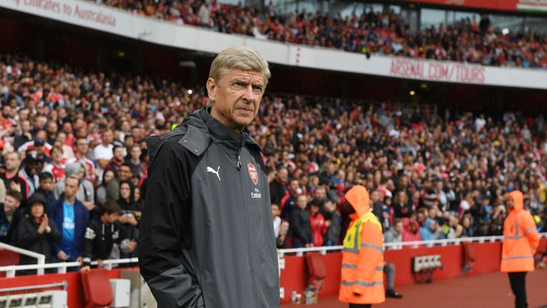 Arsene Wenger wanted a to build a British core at Arsenal
