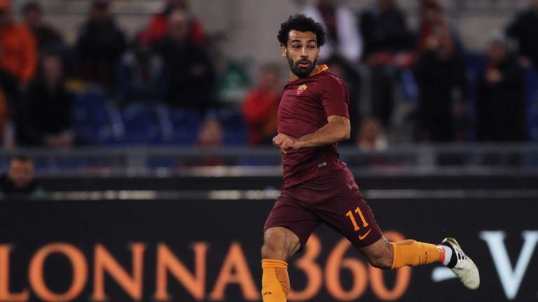 Mohamed Salah joined Liverpool from Roma on a five-year deal