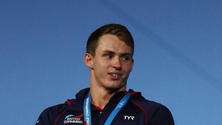 Ben Proud won gold in the men's 50m butterfly final