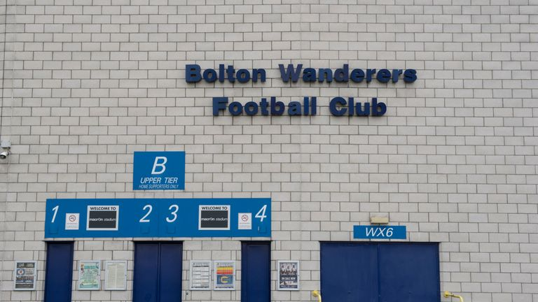 Bolton confirmed they are aware of the winding up petition