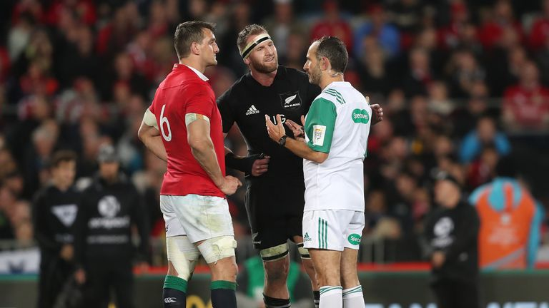 Romain Poite once again found himself at the centre of controversy