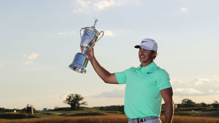 Brooks Koepka's power hitting took him away from the field down the stretch