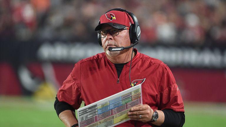 Bruce Arians won 50 games as head coach of the Arizona Cardinals