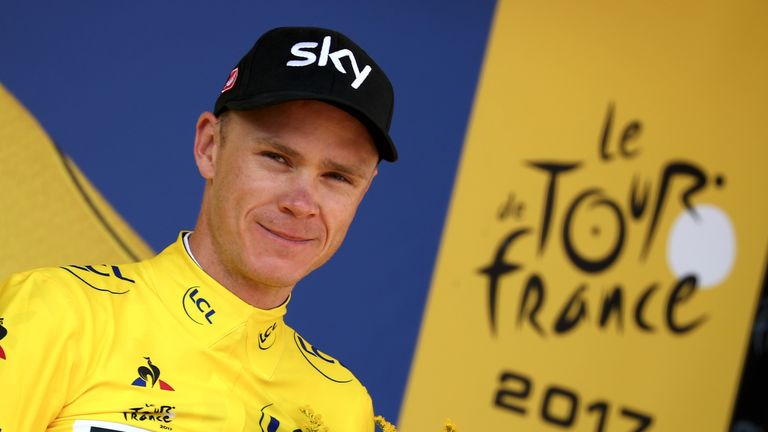 Chris Froome remains 23 seconds ahead of Romain Bardet