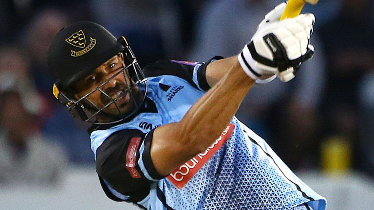 David Wiese blasted 79 to see Sussex to the top of the South Group with victory over Middlesex