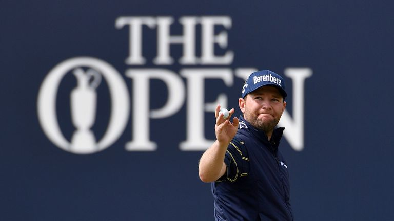 Branden Grace etched his name into the record books with his 62 at The Open