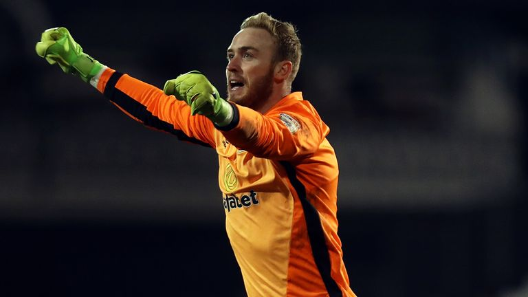Jason Steele has signed a four-year deal at the Stadium of Light