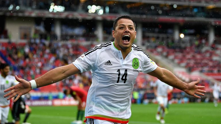 The Mexico forward has scored 39 times during his time in the Bundesliga