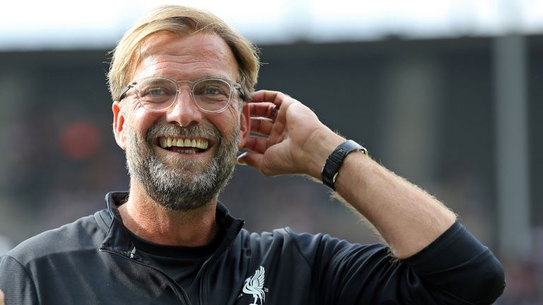 Jurgen Klopp is usually the one smiling when Liverpool face the big teams