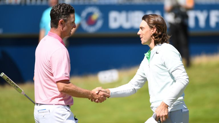 Tommy Fleetwood holds top spot heading in to the season finale