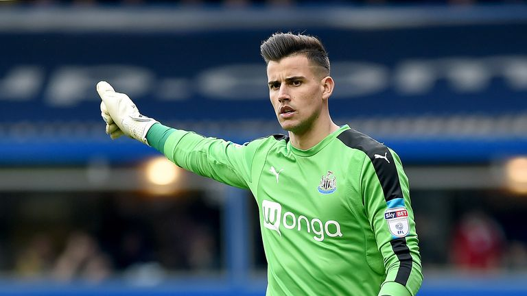 Karl Darlow is set to replace injured Rob Elliot in goal