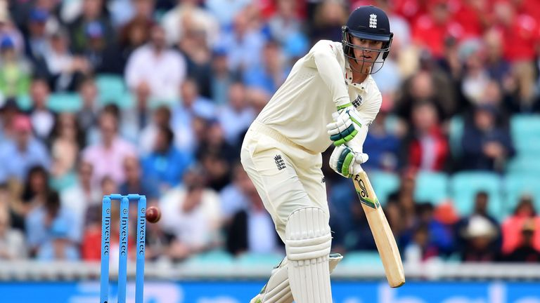 Keaton Jennings will remain as Alastair Cook's opening partner