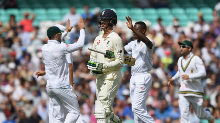 Keaton Jennings struggled for runs throughout the series against South Africa