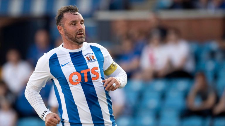 Kris Boyd helped Kilmarnock beat Annan away from home