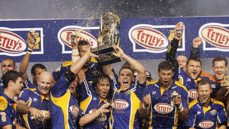 Leeds created history by winning their first championship title in 32 years in 2004