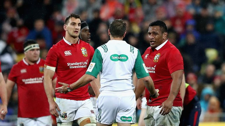 Warburton's interactions with the referee this weekend will be critical to the Test match
