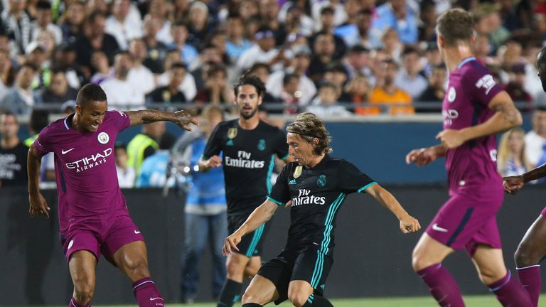 Real Madrid were second best against Pep Guardiola's Man City