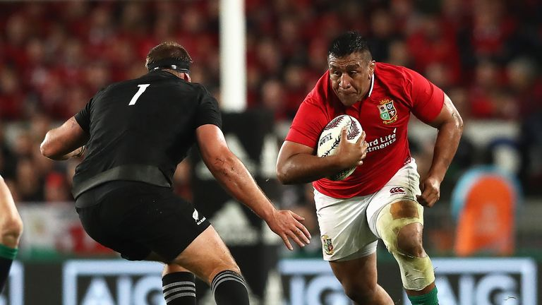 Vunipola started all three Lions Tests against New Zealand in 2017