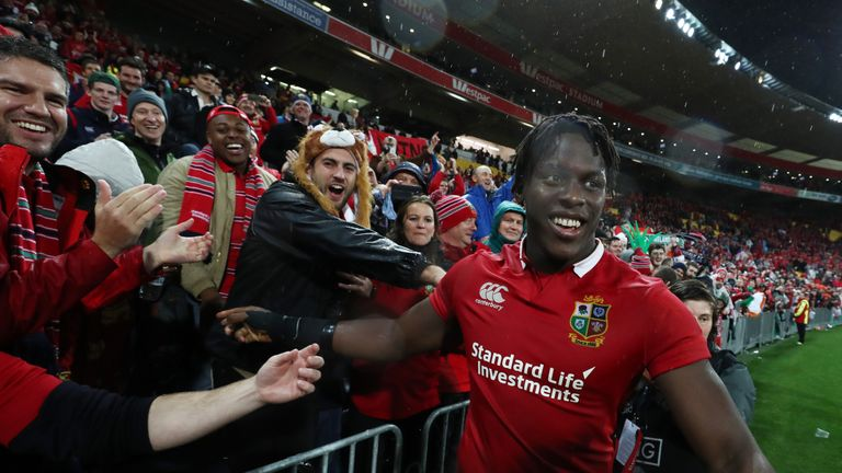 Maro Itoje was a star of the Lions' summer tour to New Zealand