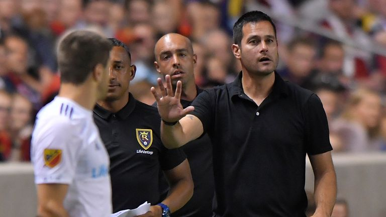 Real Salt Lake head coach Mike Petke opted to make wholesale changes
