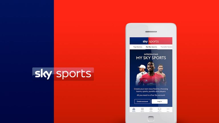 The Sky Sports app just got even better - download for iOS or Android