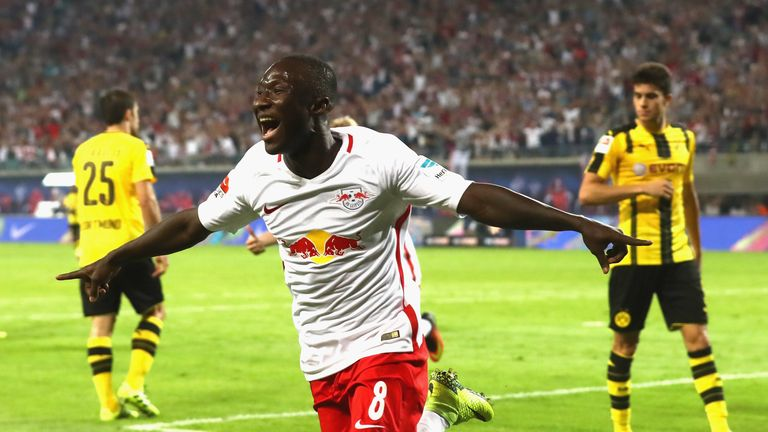 Keita scored eight times for Leipzig last season