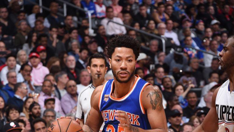 Derrick Rose spent last season with the New York Knicks