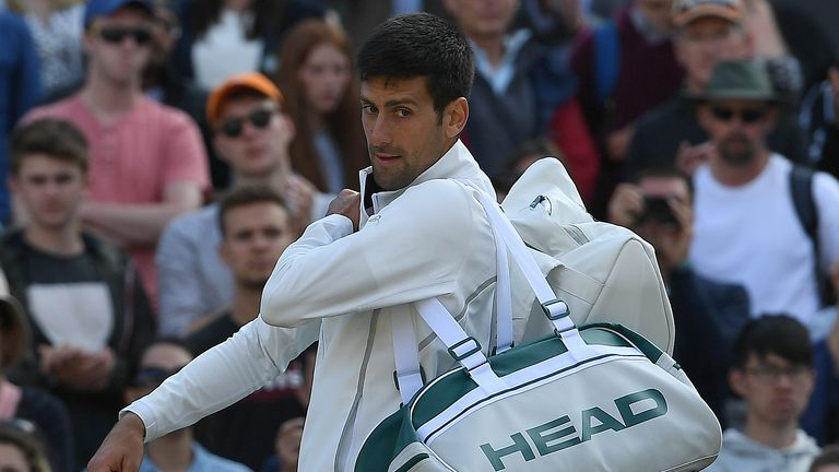 Novak Djokovic has dropped a place in the ATP rankings