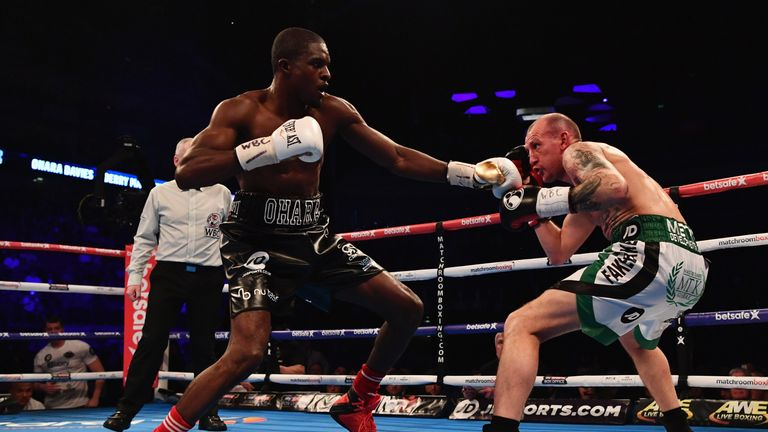 Ohara Davies beat Liverpool favourite Derry Mathews in London in March