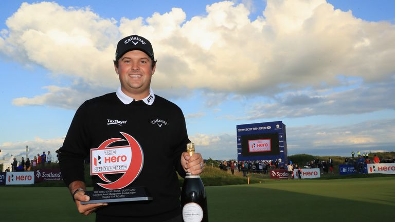 Reed is one of the star names appearing at the Scottish Open this week