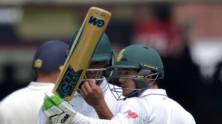 Quinton de Kock scored a 36-ball fifty for South Africa