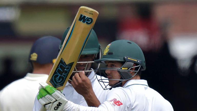Quinton de Kock scored a 36-ball fifty for South Africa