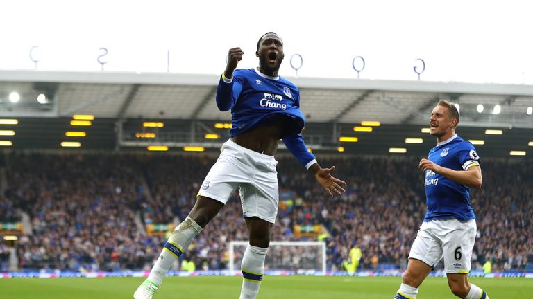 Romelu Lukaku scored 87 goals in 166 games for Everton