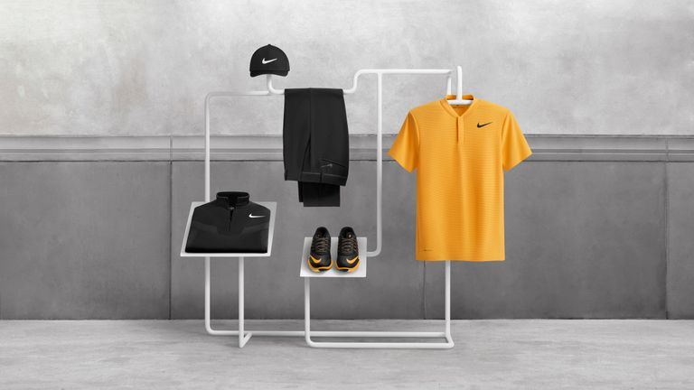McIlroy's wardrobe for his Sunday round at Royal Birkdale