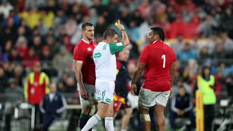 Mako Vunipola got on the wrong side of referee Jerome Garces