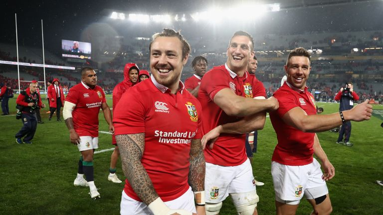 The British and Irish Lions sealed a dramatic drawn series in New Zealand in 2017
