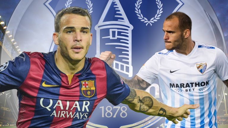 Sandro Ramirez has joined Everton on a four-year contract
